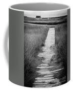 Boardwalk Through The Dunes Coffee Mug