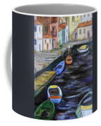 Boats In Front Of The Buildings IIi Coffee Mug