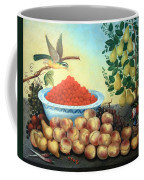 Bond's Still Life Of Bird And Dwarf Pear Tree Coffee Mug