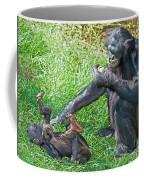Bonobo Adult And Baby Coffee Mug