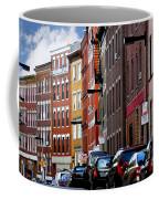 Boston Street Coffee Mug by Elena Elisseeva