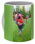 Boy Scouts Canoeing On The Bowron Lakes Coffee Mug