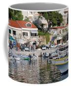 Brela Harbour Croatia Coffee Mug