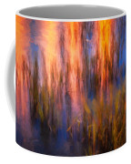 Bridge Of Lions Reflections St Augustine Florida Painted    Coffee Mug