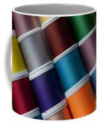 Bright Colored Spools Of Thread Coffee Mug