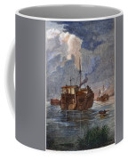 British Prison Ship Coffee Mug