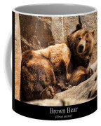 Brown Bear Coffee Mug by Chris Flees