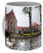 Brugge Canal Scene Coffee Mug
