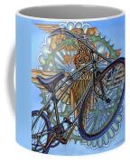 Bsa Parabike Coffee Mug by Mark Jones