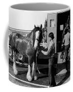 Budweiser Clydesdales La Fiesta De Los Vaqueros Rodeo Parade Tucson Arizona 1984 Coffee Mug