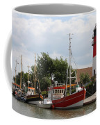 Buesum Lighthouse - North Sea - Germany Coffee Mug