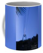 Cableway In Long Exposure Coffee Mug