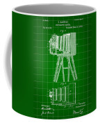 Camera Patent 1885 - Green Coffee Mug