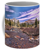 Canadian Rockies Stream Coffee Mug