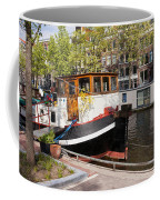 Canal In The City Of Amsterdam Coffee Mug