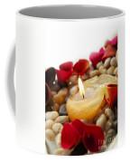 Candle And Petals Coffee Mug