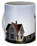 Cape Neddick Lighthouse Coffee Mug by Skip Willits