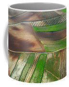 Cereal Fields From The Air Coffee Mug