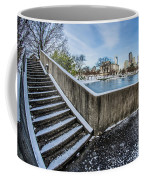 Charlotte North Carolina Marshall Park In Winter Coffee Mug