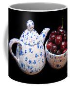 Cherries Invited To Tea Coffee Mug
