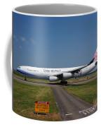 China Airlines Airbus A340 Coffee Mug