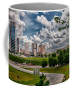 City Streets Of Charlotte North Carolina Coffee Mug