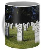 Civil War Dead At Arlington Coffee Mug
