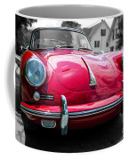 Classic Red P Sports Car Coffee Mug