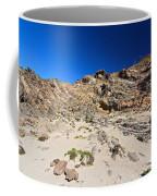 cliff in San Pietro island Coffee Mug