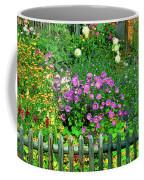 Close-up Of Flowers, Muren, Switzerland Coffee Mug