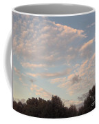 Clouds Above The Trees Coffee Mug