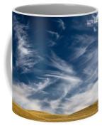 Clouds And Field Coffee Mug