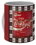 Coca Cola Signs Coffee Mug