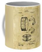 Collapsible Drum Patent 008 Coffee Mug