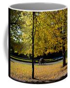 Colorful Fall Autumn Park Coffee Mug