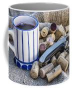 Corks With Corkscrew Coffee Mug