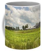 Corn Growing In Maine Farm Field Coffee Mug