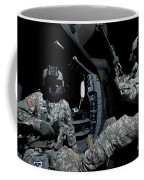 Crew Chief Sits In The Doorway Coffee Mug