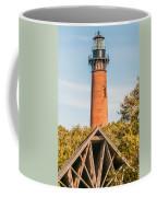 Currituck Beach Lighthouse On The Outer Banks Of North Carolina Coffee Mug