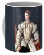 Da Brescia's Portrait Of A Lady In White Coffee Mug