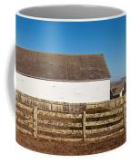 Dairy Buildings At Historic Pierce Coffee Mug
