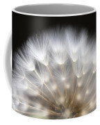 Dandelion Backlit Close Up Coffee Mug