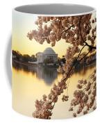 Dawn Over The Jefferson Memorial  Coffee Mug