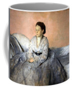 Degas' Madame Rene De Gas Coffee Mug