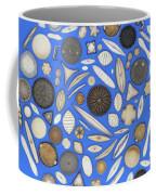 Diatoms Coffee Mug by Kent Wood