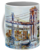 Downtown Bridge Coffee Mug