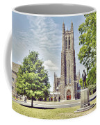 Duke Chapel In Spring Coffee Mug