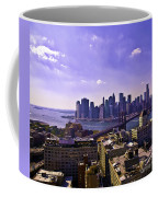 Dumbo View Of Lower Manhattan Coffee Mug