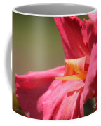 Dwarf Canna Lily Named Shining Pink Coffee Mug