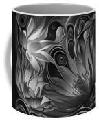 Dynamic Floral Fantasy Coffee Mug